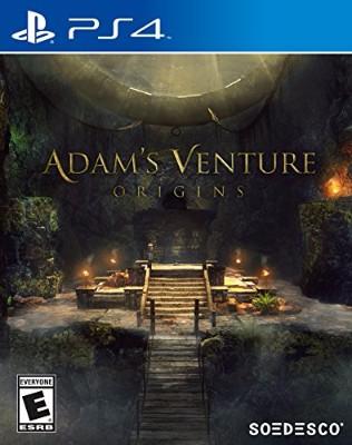 Adam's Venture: Origins Cover Art