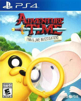 Adventure Time: Finn & Jake Investigations Cover Art