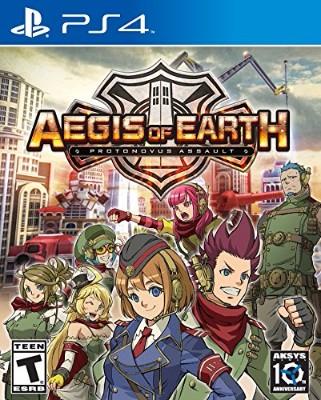 Aegis of Earth: Protonovus Assault Cover Art