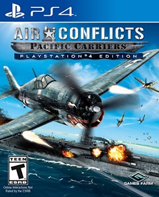 Air Conflicts: Pacific Carriers [Playstation 4 Edition] Cover Art