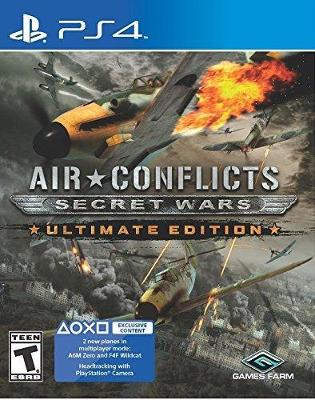 Air Conflicts: Secret Wars [Ultimate Edition] Cover Art