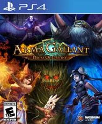 ArmaGallant: Decks of Destiny Cover Art