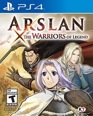 Arslan: The Warriors of Legend Cover Art
