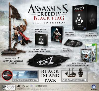Assassin's Creed IV: Black Flag [GameStop Edition] Cover Art