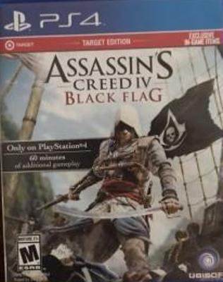 Assassin's Creed IV: Black Flag [Target Edition] Cover Art