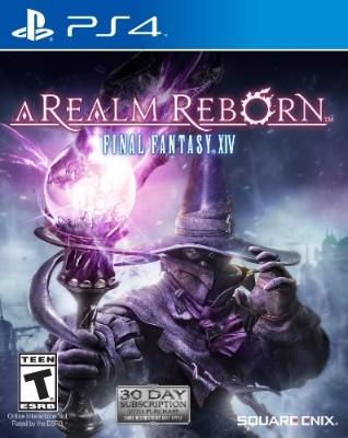 Final Fantasy XIV: A Realm Reborn Cover Art
