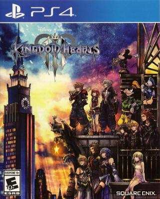 Kingdom Hearts III Cover Art
