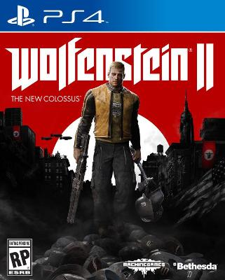 Wolfenstein II: The New Colossus Cover Art