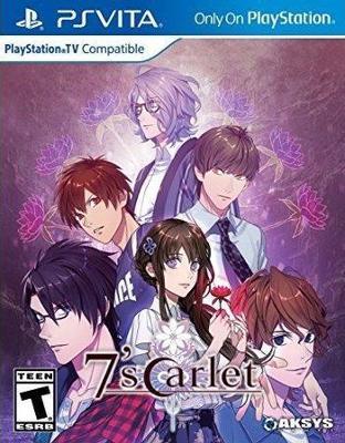 7'scarlet Cover Art