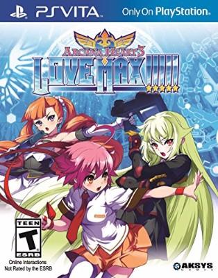 Arcana Heart 3: Love Max!!!!! Cover Art