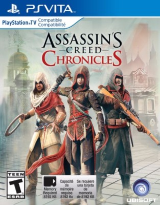Assassin's Creed Chronicles Cover Art