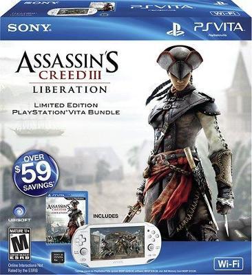Sony PlayStation Vita Wi-Fi [Assassin's Creed III Liberation Bundle] Cover Art