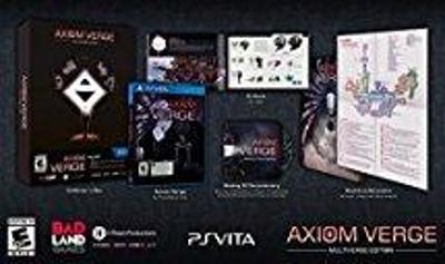 Axiom Verge [Multiverse Edition] Cover Art