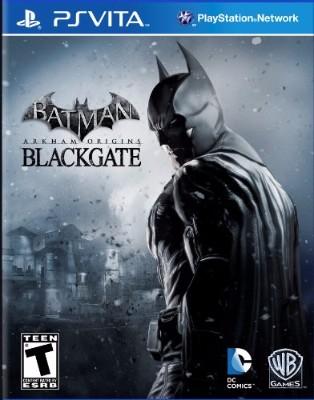 Batman: Arkham Origins Blackgate Cover Art