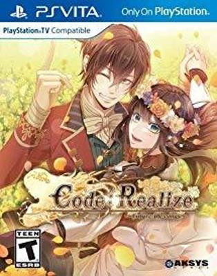 Code : Realize : Future Blessings Cover Art