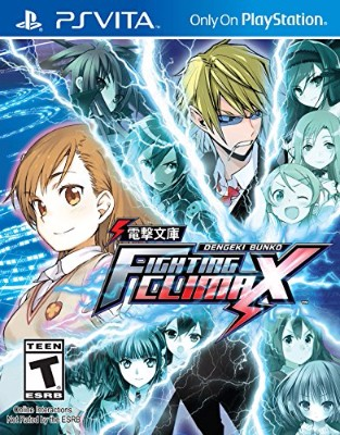 Dengeki Bunko: Fighting Climax Cover Art