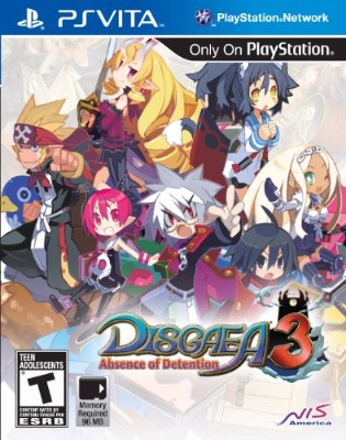 Disgaea 3 Absence of Detention Cover Art