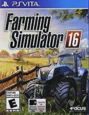 Farming Simulator 16 Cover Art