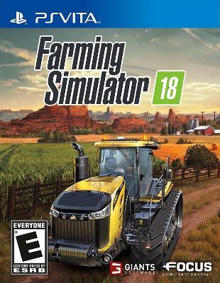 Farming Simulator 18 Cover Art