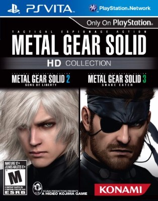 Metal Gear Solid HD Collection Cover Art