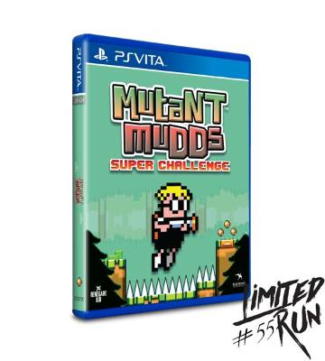 Mutant Mudds Super Challenge Cover Art