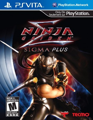 Ninja Gaiden Sigma Plus Cover Art