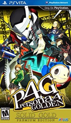 Persona 4 Golden: Solid Gold [Premium Edition] Cover Art