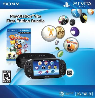 PlayStation Vita 3G/Wi-Fi [First Edition Bundle] Cover Art