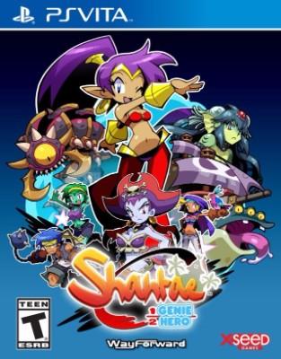 Shantae: Half-Genie Hero [Risky Beats Edition] Cover Art