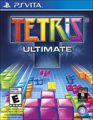 Tetris Ultimate Cover Art
