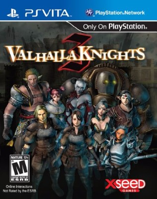 Valhalla Knights 3 Cover Art