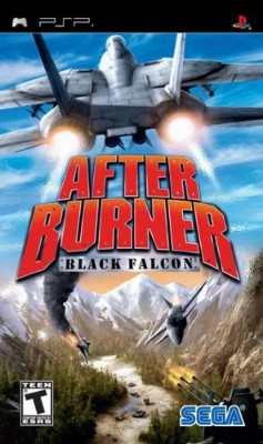 After Burner: Black Falcon Cover Art