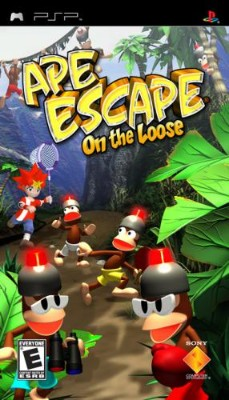 Ape Escape: On the Loose Cover Art