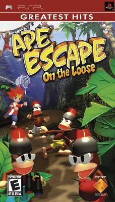 Ape Escape: On the Loose [Greatest Hits] Cover Art