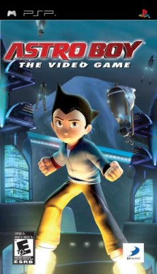 Astro Boy: The Video Game Cover Art
