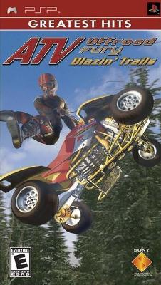 ATV Offroad Fury: Blazin' Trails [Greatest Hits] Cover Art
