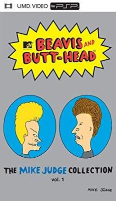 Beavis and Butt-head: The Mike Judge Collection vol. 1 [UMD] Cover Art