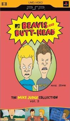 Beavis and Butt-head: The Mike Judge Collection vol. 3 [UMD] Cover Art