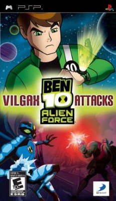Ben 10: Alien Force Vilgax Attacks Cover Art