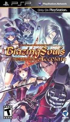 Blazing Souls: Accelate Cover Art