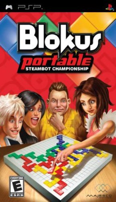 Blokus Portable: Steambot Championship Cover Art