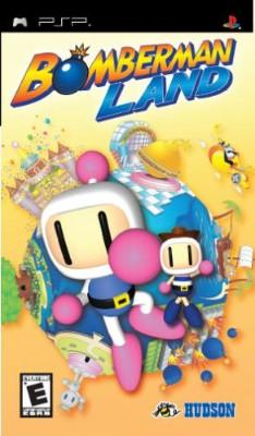Bomberman Land Cover Art
