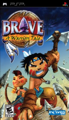 Brave: A Warrior's Tale Cover Art