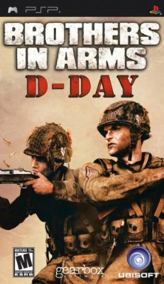 Brothers in Arms: D-Day Cover Art