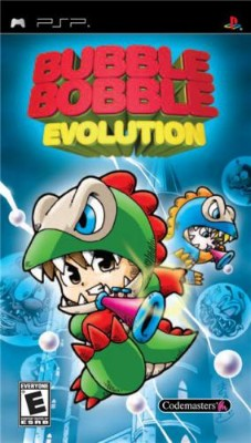 Bubble Bobble Evolution Cover Art