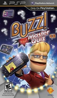 Buzz!: Master Quiz Cover Art