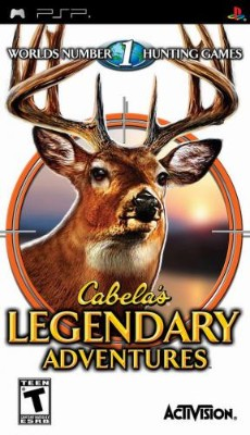 Cabela's Legendary Adventures Cover Art