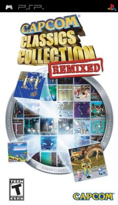 Capcom Classics Collection Remixed Cover Art
