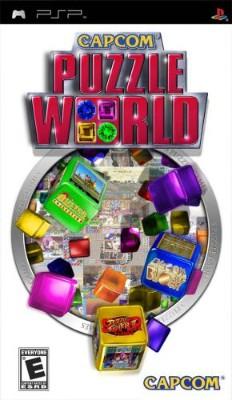 Capcom Puzzle World Cover Art