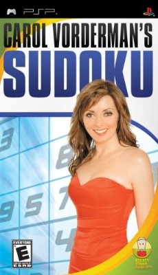 Carol Vorderman's Sudoku Cover Art